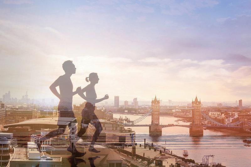 Бросьте вызов возможностям своего тела! Добро пожаловать на Лондонский Марафон на частном джете